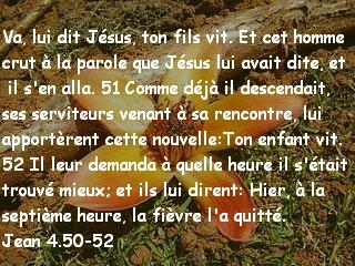 Jean 4.50-52