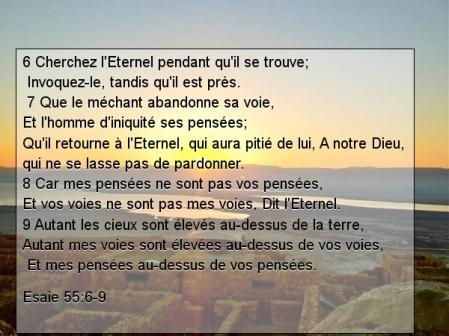 Esaie 55v6.9