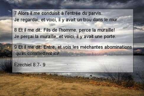 Ézéchiel 8.7- 9