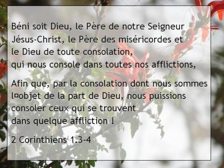 2 Corinthiens 1.3-4