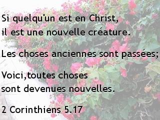 2 Corinthiens 5.17