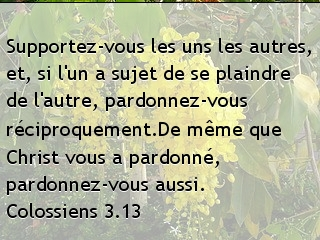 Colossiens 3.13
