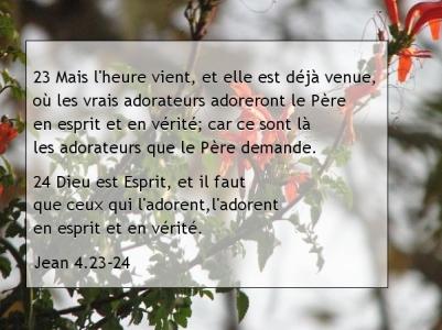 Jean 4.23-24