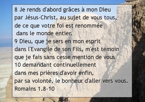 Romains 1.8-10