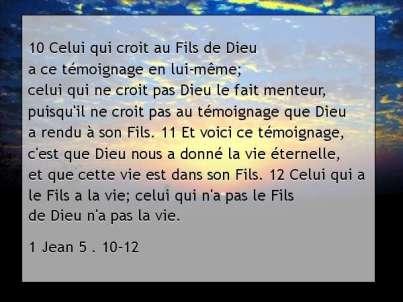 1 Jean 5 . 10-12