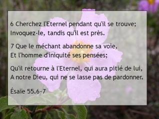 Ésaïe 55.6-7