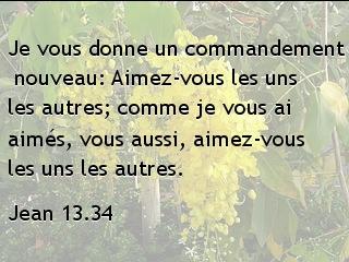 Jean 13.34
