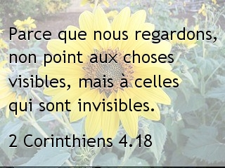 2 Corinthiens 4.18