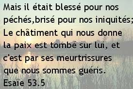 Esaïe 53.5