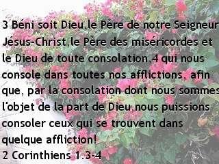2 Corinthiens 1.3-4.