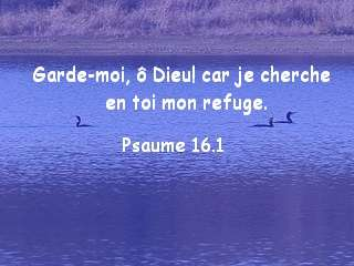 Psaume 16.1