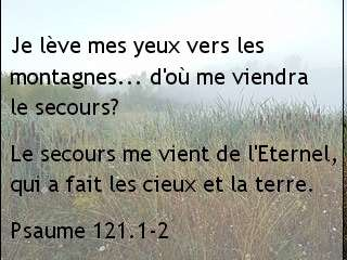 Psaume 121.1-2