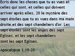 Apocalypse 1.19-20