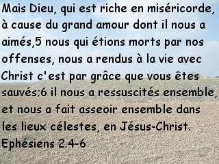 Ephésiens 2.4-6