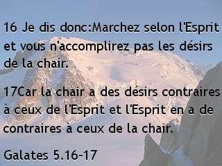 Galates 5.16-17