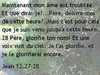 Jean 12.27-28