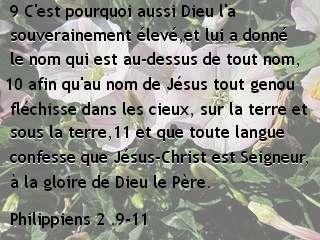 Philippiens 2 .9-11