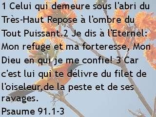 Psaume 91.1-3