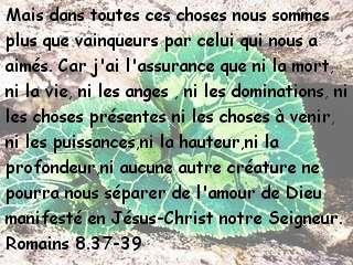 Romains 8.37-39