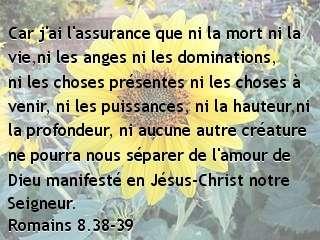 Romains 8.38-39