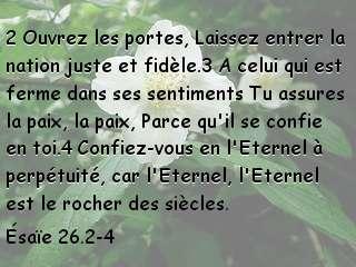 Ésaïe 26.2-4