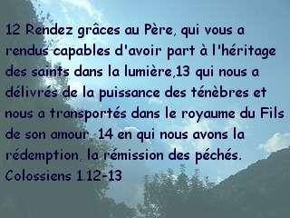 Colossiens 1.12-13