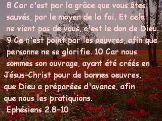 Ephésiens 2.8-10.