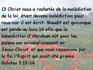 Galates 3.13-14