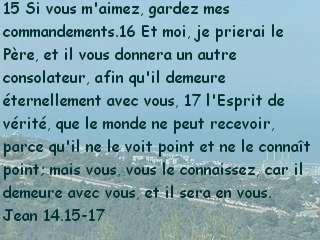Jean 14.15-17