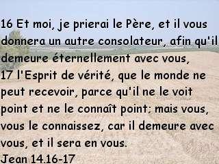 Jean 14.16-17