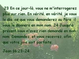 Jean 16.23-24