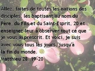 Matthieu 28