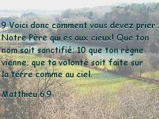 Matthieu 6.9