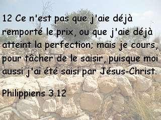 Philippiens 3.12