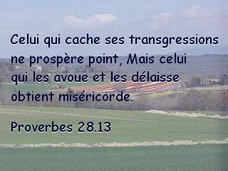 Proverbes 28.13