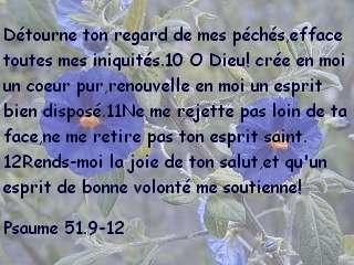 Psaume 51.9-12