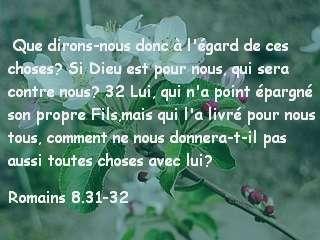 Romains 8.31-32