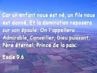Esaïe 9.6