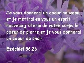 Ezéchiel 36.26