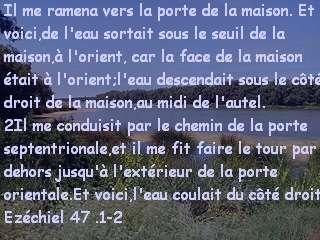 Ezéchiel 47 .1-2