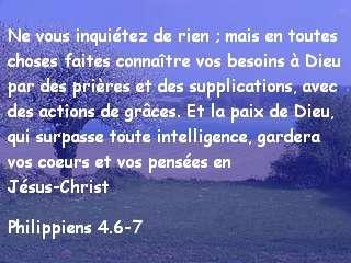 Philippiens 4.6-7