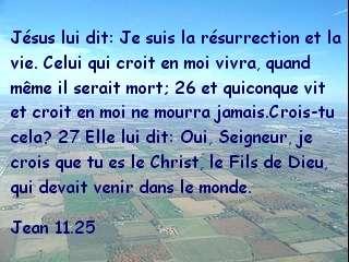 Jean 11.25