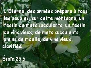 Ésaïe 25.6