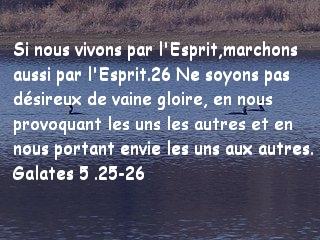 Galates 5 .25-26
