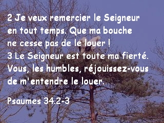 Psaumes 34.2-3
