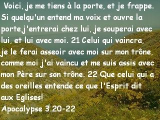 Apocalypse 3.20-22