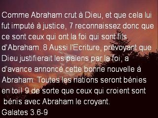 Galates 3.6-9