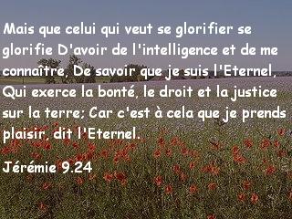 Jérémie 9.24