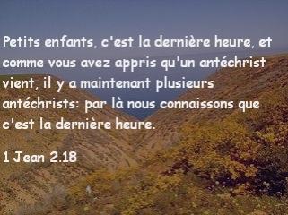 1 Jean 2.18