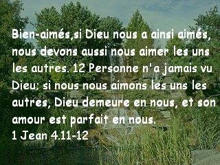 1 Jean 4.11-12